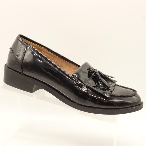 Steve Madden Meela Black Patent Leather